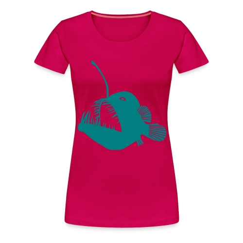 anglerfish frogfish sea devil deep sea angler - Women's Premium T-Shirt