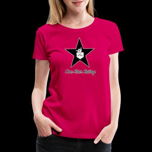 One Star Rating - Women's Premium T-Shirt