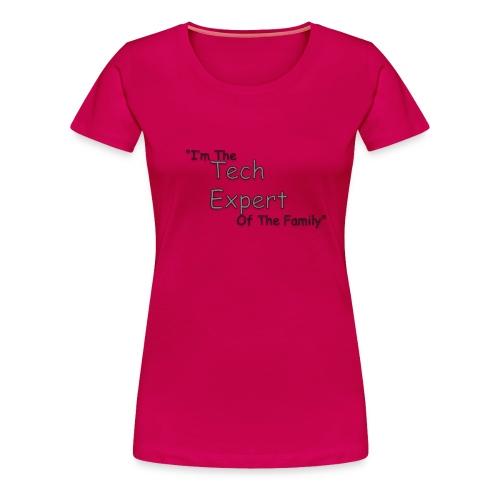 Tech Expert - Women's Premium T-Shirt