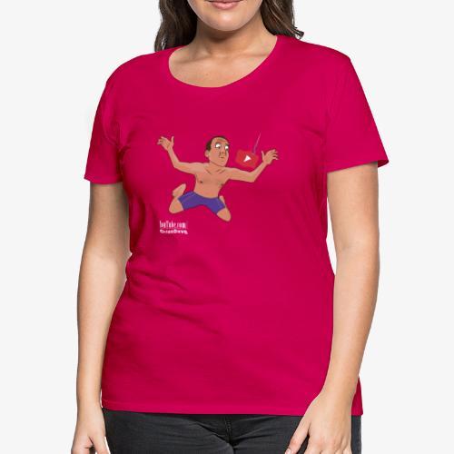 Nevermind parody for dark shirts - Women's Premium T-Shirt