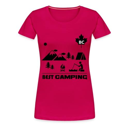 BC Best Camping - Women's Premium T-Shirt