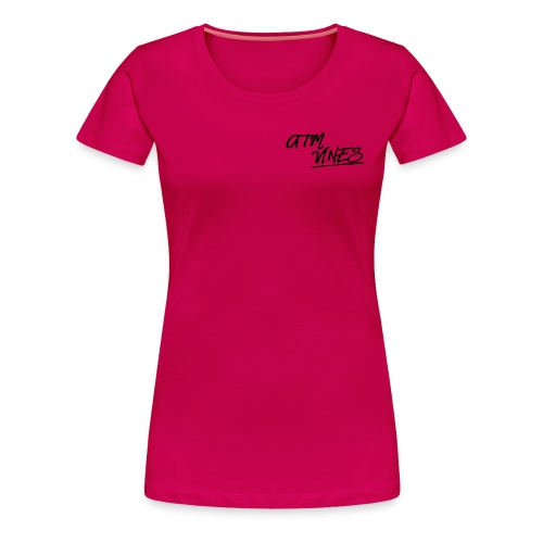 ATM VINES - Women's Premium T-Shirt