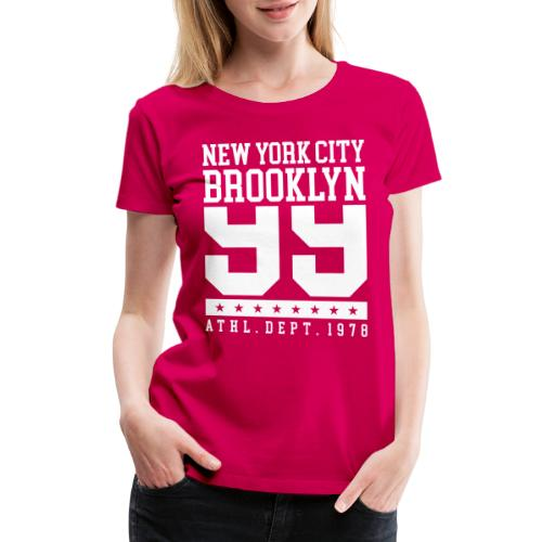 new york city brooklyn - Women's Premium T-Shirt
