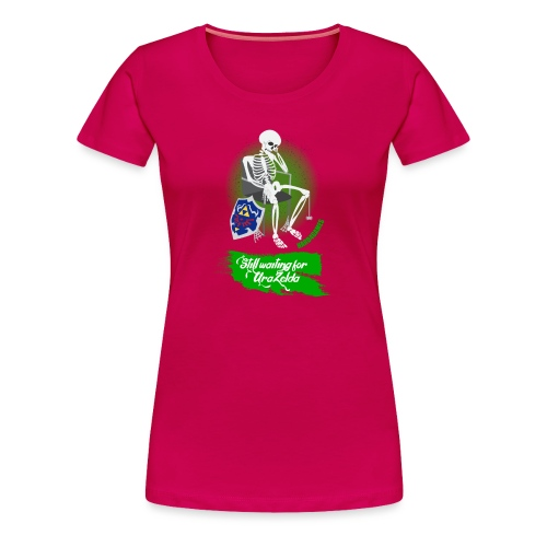 Still Waiting for Zelda - Women's Premium T-Shirt