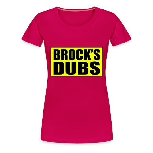 brocksdubs2 - Women's Premium T-Shirt