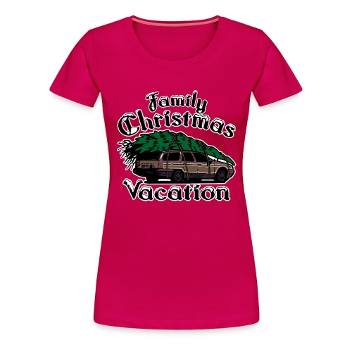 Griswold Wagon Christmas Tree Christmas Vacation - Women's Premium T-Shirt