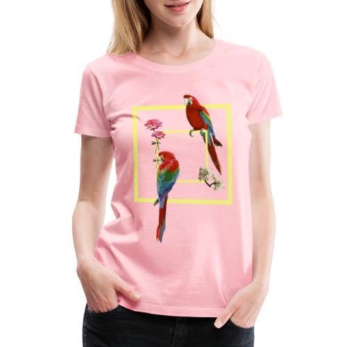 parrots - Women's Premium T-Shirt