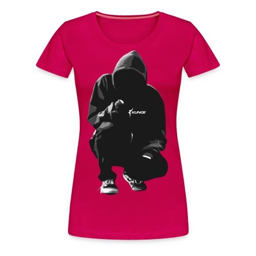 Kunce Clothing Original Hoodie Trace B/W - Women's Premium T-Shirt