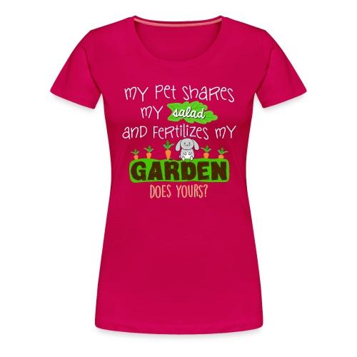 Bunny Benefits - Women's Premium T-Shirt