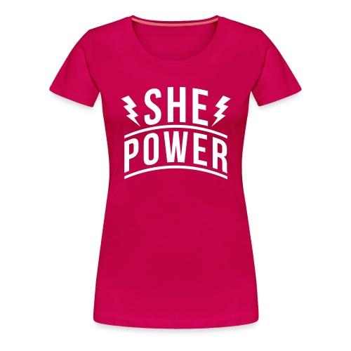 She Power - Women's Premium T-Shirt