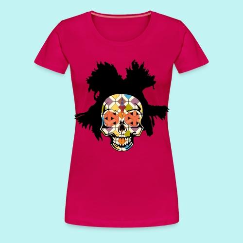 BASQUIAT SKULLY - Women's Premium T-Shirt