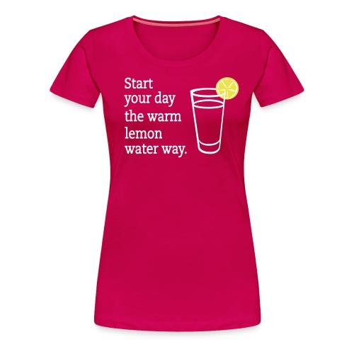 lemon waterdesign - Women's Premium T-Shirt