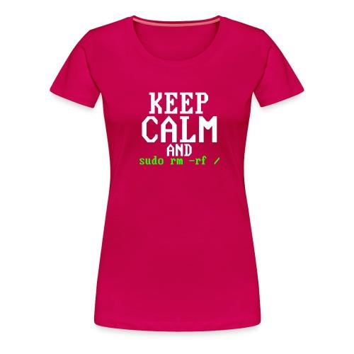 Sudo rm rf - Women's Premium T-Shirt