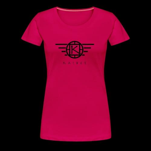 Official kaibet logo. - Women's Premium T-Shirt