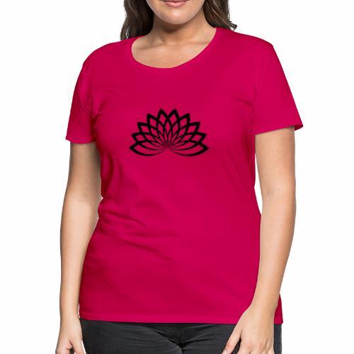 lotus noir - Women's Premium T-Shirt