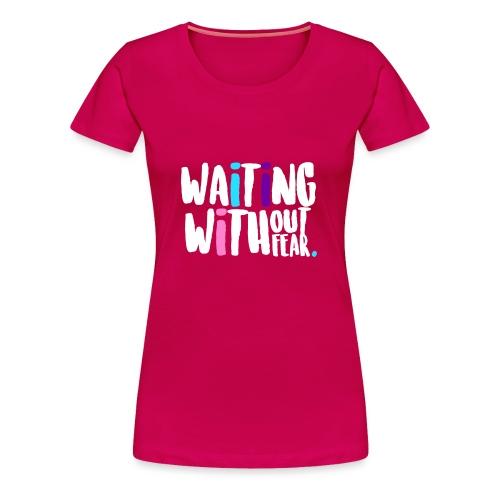 waiting png - Women's Premium T-Shirt