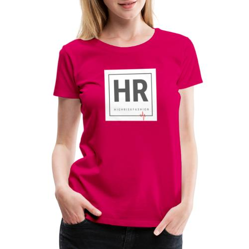 HR - HighRiskFashion Logo Shirt - Women's Premium T-Shirt