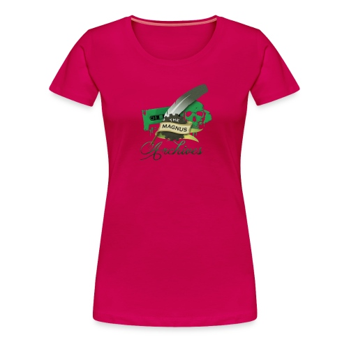 the magnus Logo - Women's Premium T-Shirt