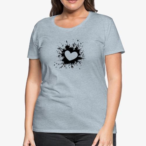 heart - T-shirt premium pour femmes