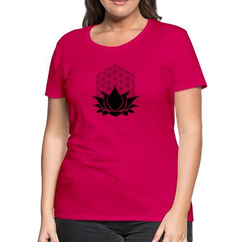 Sacred Lotus - Women's Premium T-Shirt
