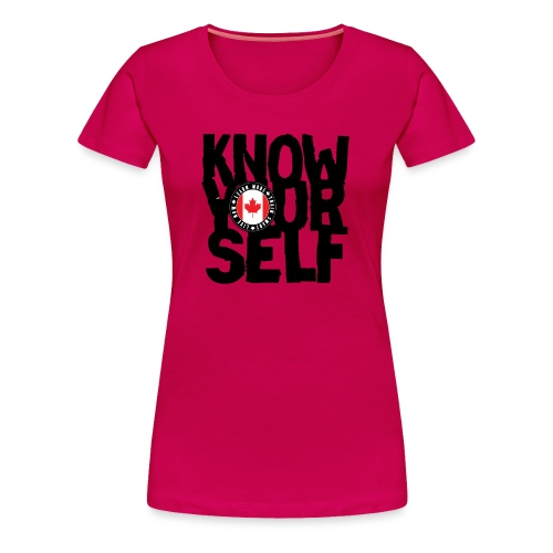 know black - Women's Premium T-Shirt