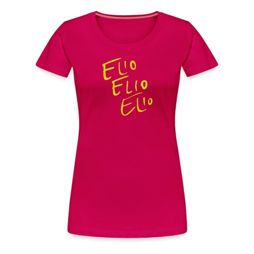 Elio Talking Heads Shirt - Women's Premium T-Shirt