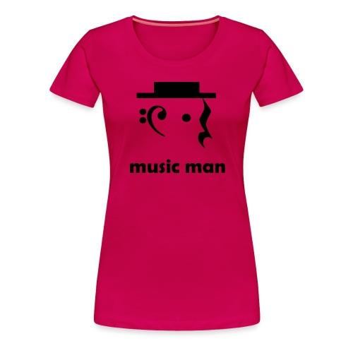 music man - Women's Premium T-Shirt