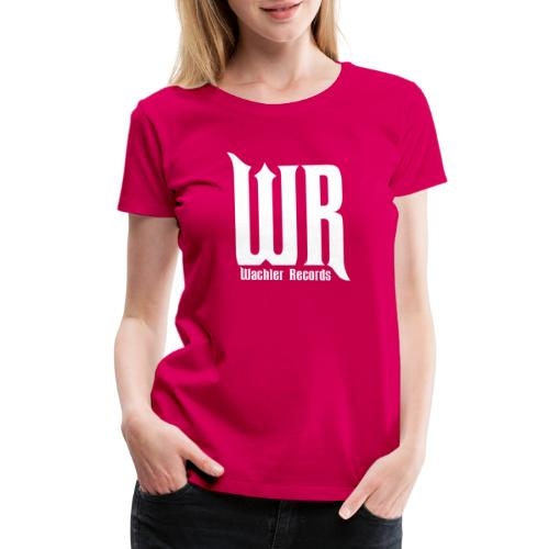 Wachler Records Light Logo - Women's Premium T-Shirt
