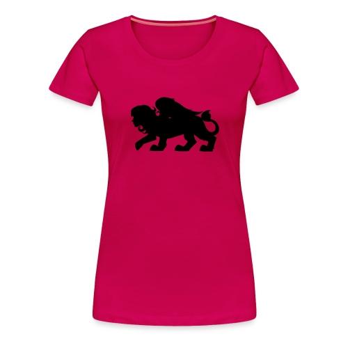 Sphynx Silhouette - Women's Premium T-Shirt