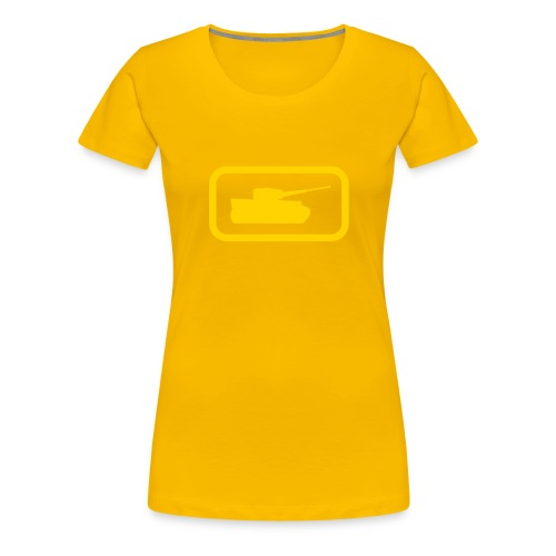 Tank Logo - Multi-Color - Axis & Allies - Women's Premium T-Shirt