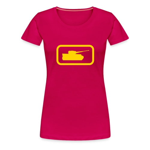 Tank Logo - Multi-Color - Axis & Allies - Women's Premium T-Shirt
