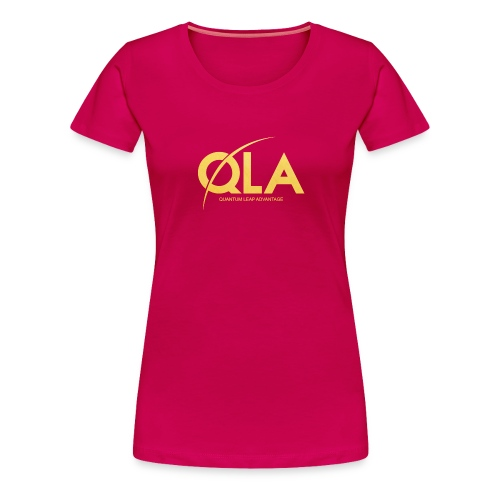 quantum leap advantage QLA - Women's Premium T-Shirt