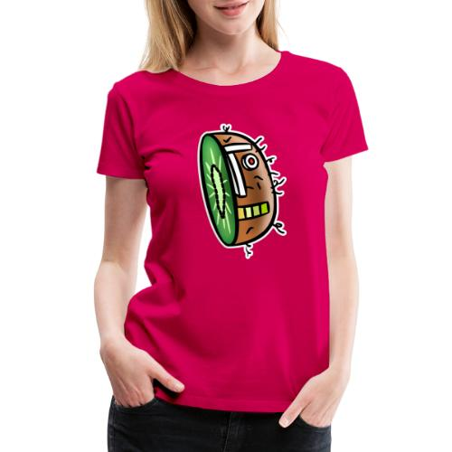 Kiwi Bot - Women's Premium T-Shirt