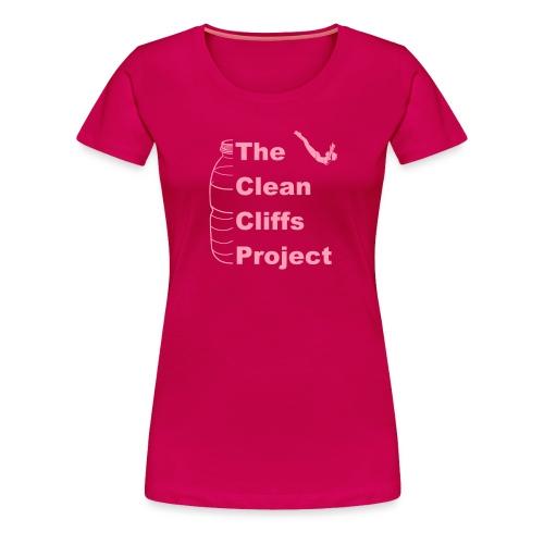 Clean Cliffs Project - Women's Premium T-Shirt