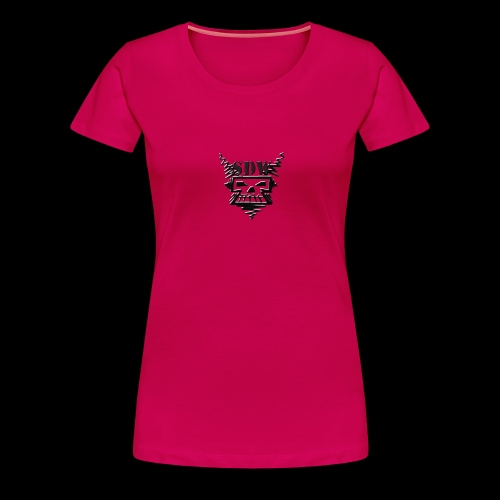 SDW Skull Small - Women's Premium T-Shirt