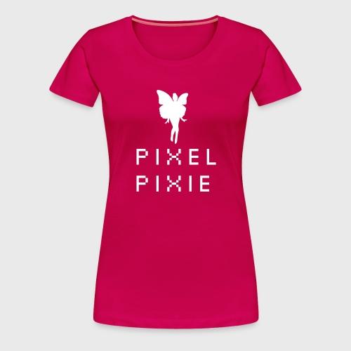 Geek Girl Pixel Pixie - Women's Premium T-Shirt