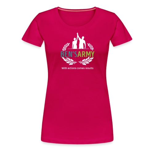 BensArmy Final Logo Reversed png - Women's Premium T-Shirt