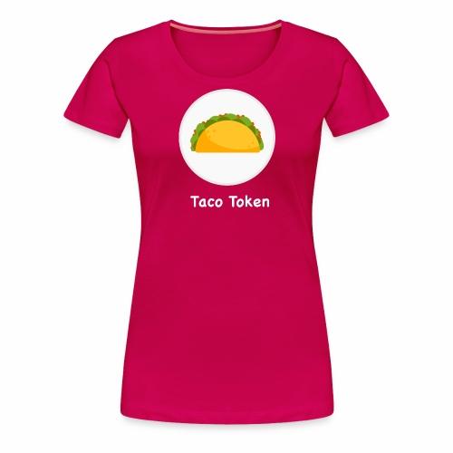 taconewwhite - Women's Premium T-Shirt