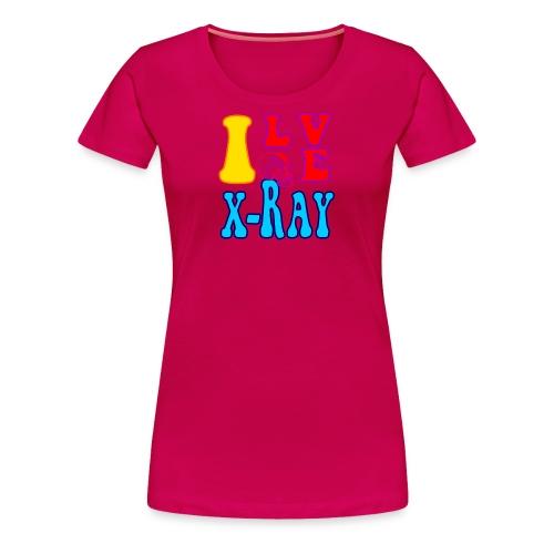 I Love X-Ray - Women's Premium T-Shirt