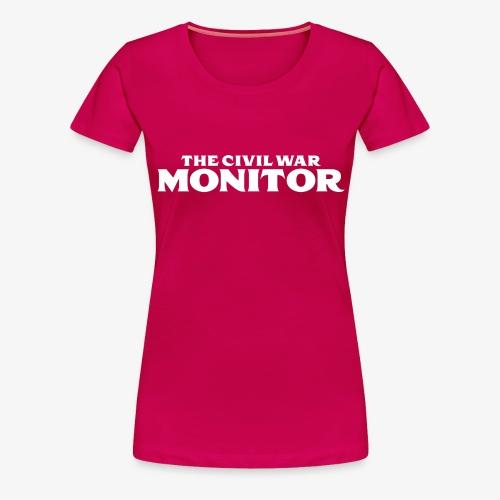 CWM LOGO WHITE - Women's Premium T-Shirt