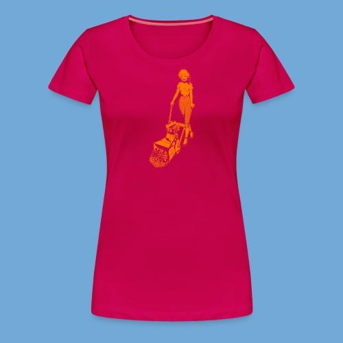 Roto-Hoe Orange - Women's Premium T-Shirt