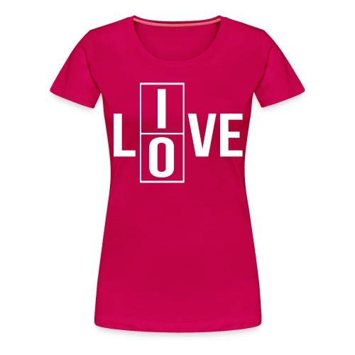 live love 2 - Women's Premium T-Shirt
