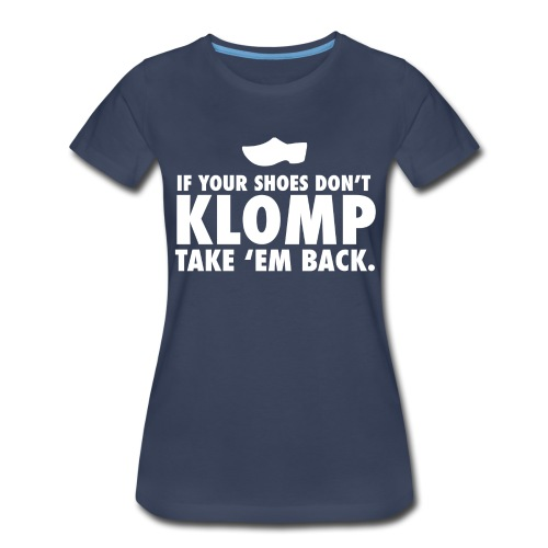 08 Klomp white lettering - Women's Premium T-Shirt
