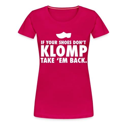 08 Klomp white lettering - Women's Premium T-Shirt