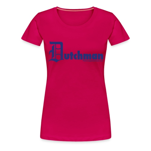 10 final dutchman d blue - Women's Premium T-Shirt