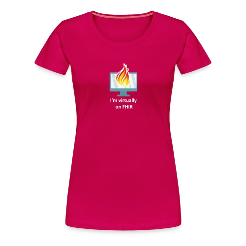 HL7 FHIR DevDays 2020 - Desktop - Women's Premium T-Shirt