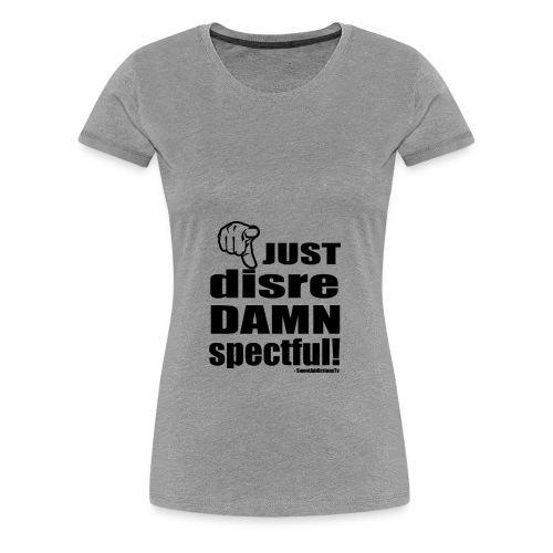 disrehandblackbig1 - Women's Premium T-Shirt