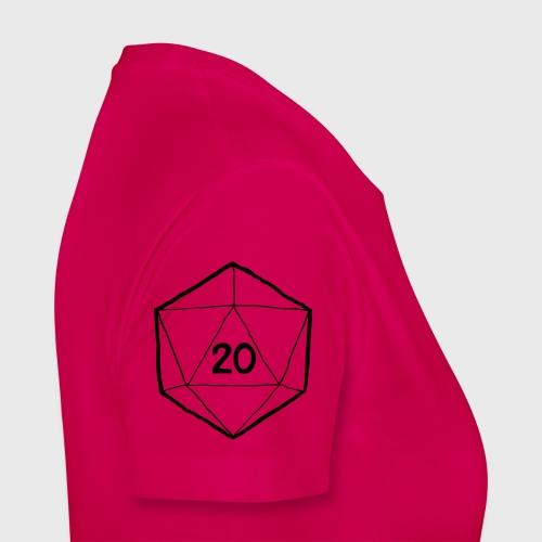 Fantasy Dice d20 - Women's Premium T-Shirt