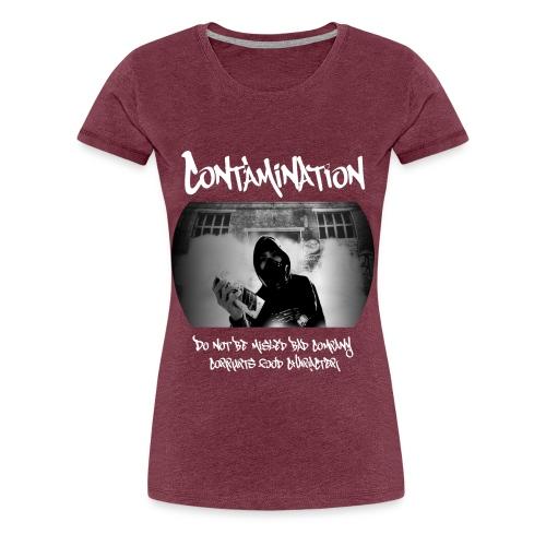 contamination front - Women's Premium T-Shirt