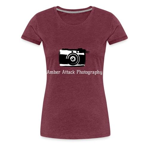 Amber Attack Photography Logo - Women's Premium T-Shirt